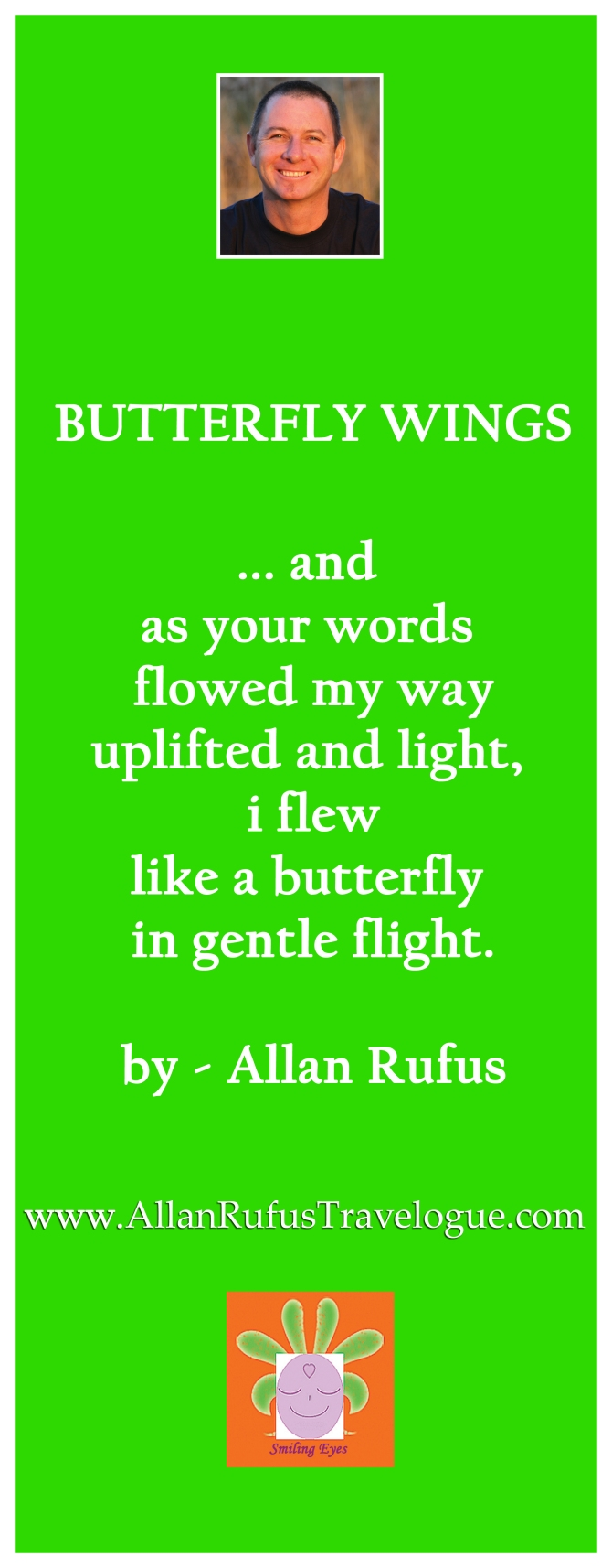 "Poem ""Butterfly wings"" by Allan Rufus"