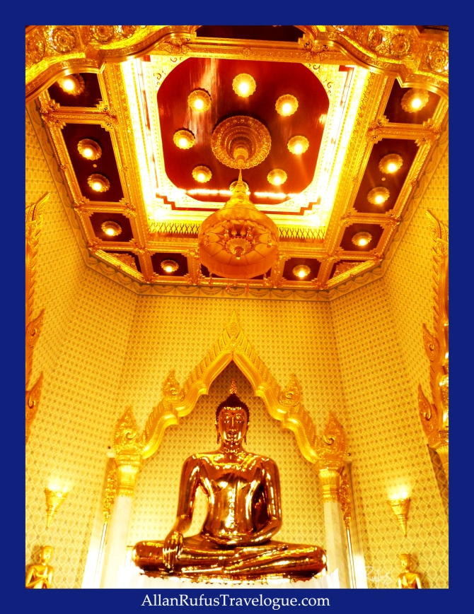 The Golden Buddha's space