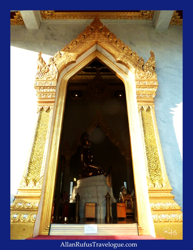 The Golden Buddha and orbs