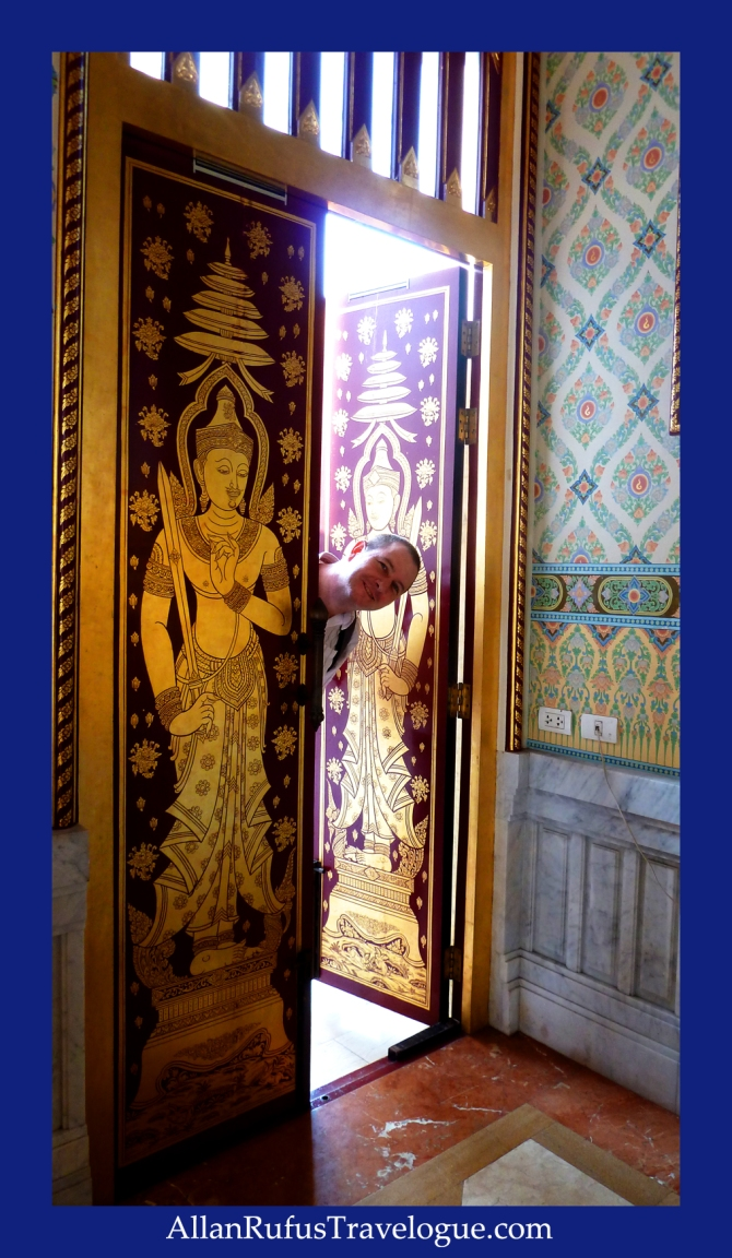 The Beautiful Doors to The Golden Buddha