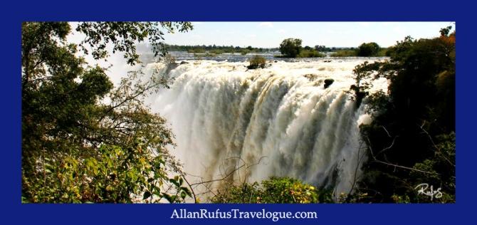 "Victoria Falls (or Mosi-oa-Tunya  ""the Smoke that Thunders"") Zambia side"