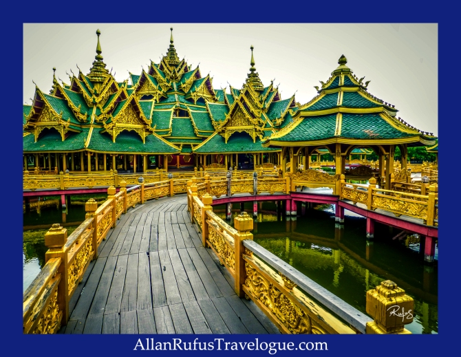 Pavilion of the Enlightened - The Ancient City, also known as Muang Boran