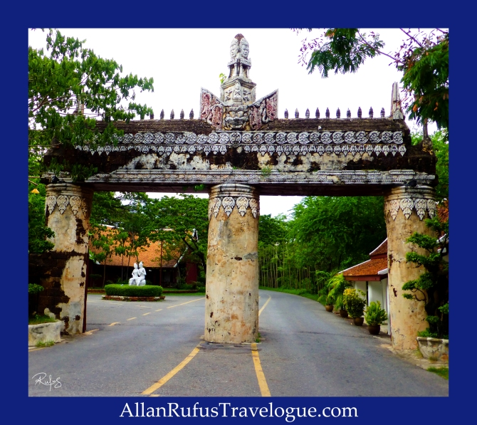 The City Wall and Gate - The Ancient City ( Muang Boran)
