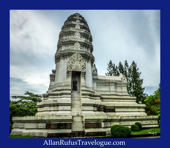 The Stupa of Phra Maha That, Ratchaburi - The Ancient City (Muang Boran)