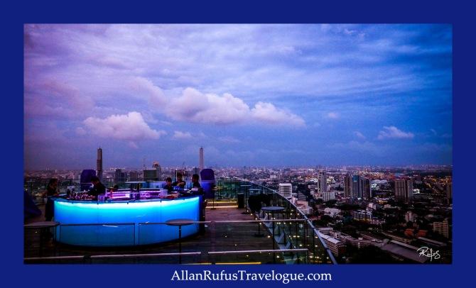 Octave Rooftop Lounge & Bar At Bangkok Marriott Hotel Sukhumvit, Bangkok