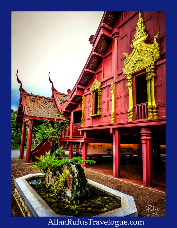 Old Thai traditional building
