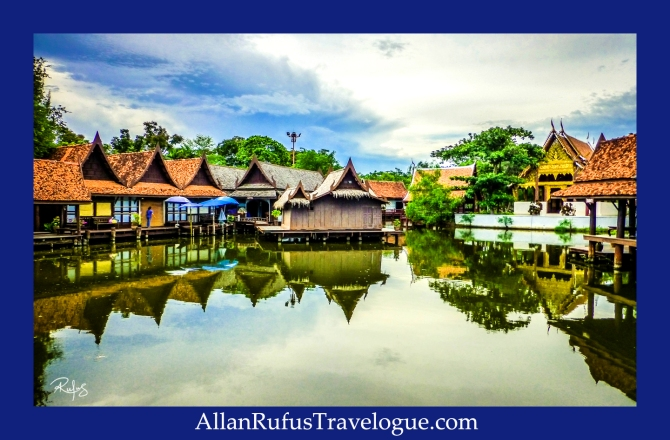 The Floating Market - The Ancient City (Muang Boran)