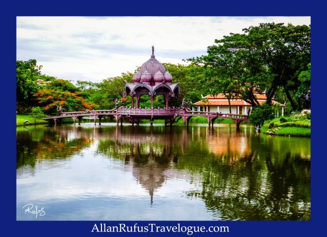Beautiful Pagoda and bridge