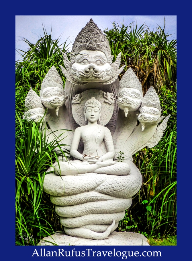 The Buddha Image Being Protected by the Naga