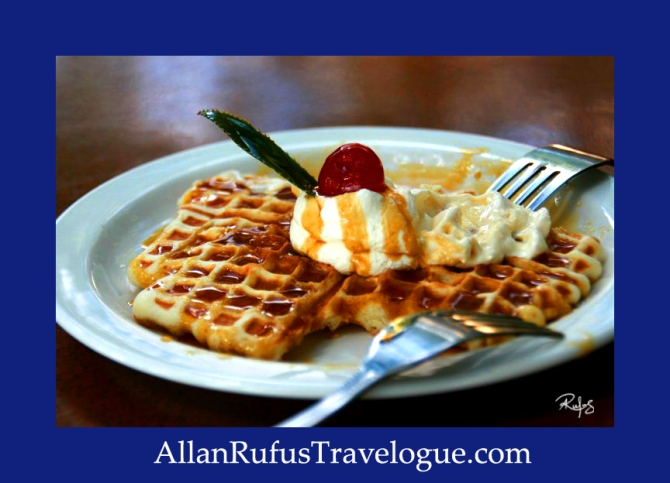 Travelogue - Allan Rufus. Botswana, Kasane, Waffles