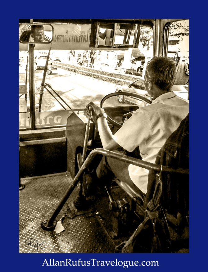 Street Photography - Bus driver