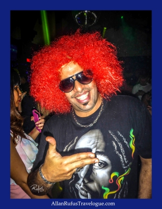 Street Photography - Dude with orange hair