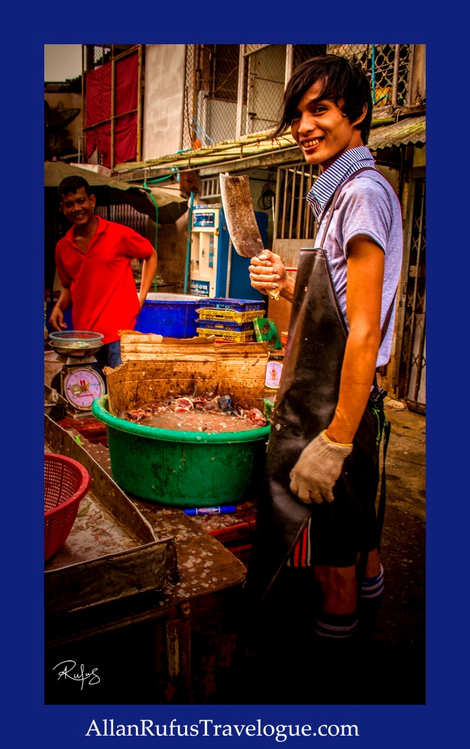 Street Photography - At the Fish Market