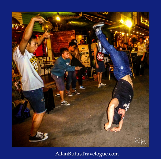 Street Photography - break dancing