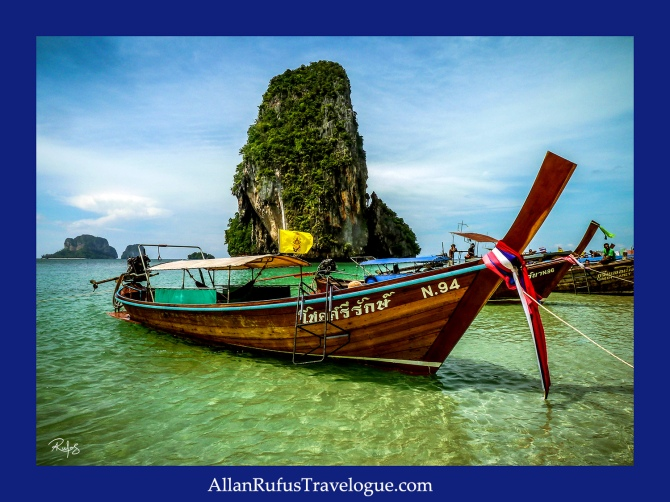 Krabi boat - Thailand