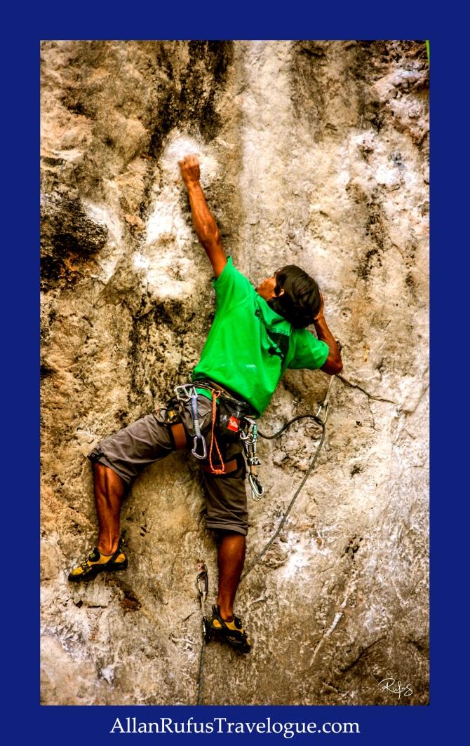 Street Photography - Rock climbing!