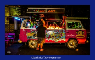 Street Photography - Take Care Party Wagon!