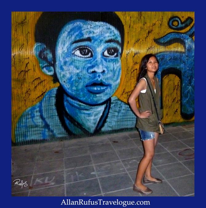 Street Photography - Graffiti on the wall!
