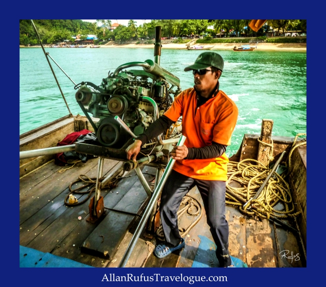 Street Photography - Steering the boat!